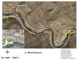 Blm Maps Colorado by Blm Temporarily Closes Point Barr Road Gold Prospectors Of Colorado
