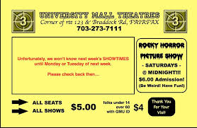 movies showtimes discount movie tickets university mall