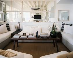 Living Room Wall Mirrors Ideas - living room stylish smal with wall mirror decorating idea small