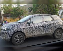 renault mahindra renault kaptur spied on test in india to rival the mahindra