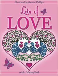 amazon lots love coloring book coloring book love