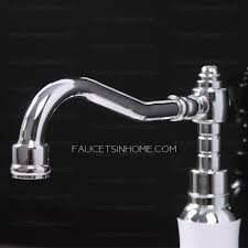 overstock faucets kitchen electric white painting single handle faucet kitchen