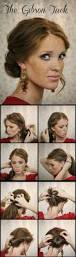 the gibson tuck diy step by step hair tutorial gibson tuck