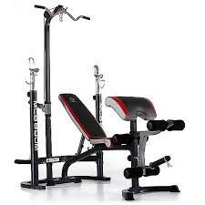 Marcy Weight Bench Set Marcy Classic Midsize Bench With Lat Bar Walmart Com
