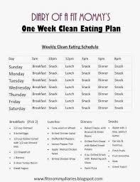 14 day clean eating meal plan for the whole family clean eating