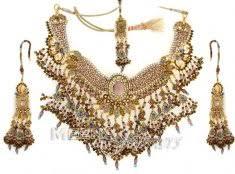 gold bridal sets 22 kt gold bridal necklace and earing sets 22kt gold bridal