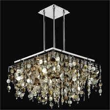 pearl chandelier of pearl shell chandelier and cityscape 598p