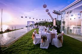 wedding venues beautiful outdoor wedding venue near swimming pool ideas weddingood
