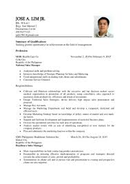 Resume Sample Doc Philippines by Resume Sample 2015 Philippines Virtren Com