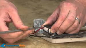 how to replace the 2 speed switch assembly on a ryobi 132r string