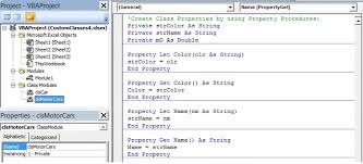 excel vba custom classes u0026 objects class modules custom events