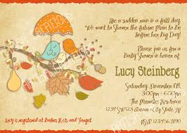 Pumpkin Baby Shower Ideas - colors fall baby shower invitations templates in conjunction