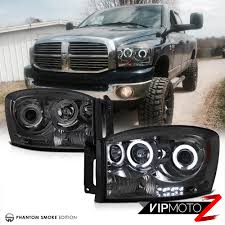 dodge ram magnum ccfl headlights smd lights black fog third brake led 06 dodge