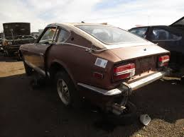 1972 nissan datsun 240z junkyard find 1973 datsun 240z the truth about cars