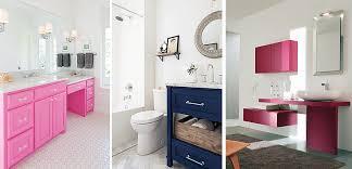muebles de lavabo un lavabo de color para decorar el baño