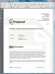 software and hardware system sample proposal create your own