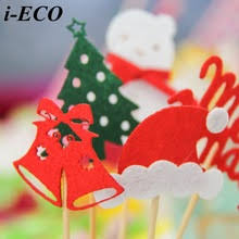 Christmas Cake Decorations Toppers by Compare Prices On Diy Cupcake Toppers Online Shopping Buy Low