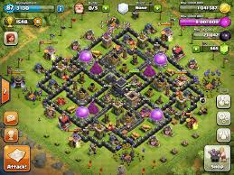 layout vila nivel 9 clash of clans compilation of goodguy s x core base design th8 th9