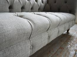 Linen Chesterfield Sofa Romford Wool Chesterfield Sofa Abode Sofas