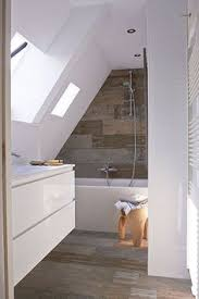Small Attic Bathroom Sloped Ceiling by Ikea Hackers Kvartal Shower Curtain For Dormered Bathroom Ikea