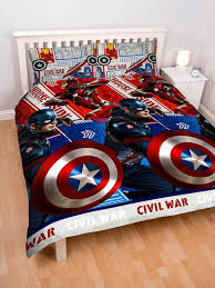captain america civil war double duvet cover set polyester house