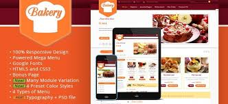 sj bakery virtuemart responsive online shop template