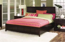 cherry wood sleigh beds andreas king bed