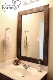 bathroom mirror frame kit lowes best bathroom decoration