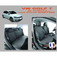 housse siege de voiture personnalisé housse de siège auto privilège pour voiture volkswagen golf 7
