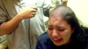 part 1 force hair cut crying forced hair cut as