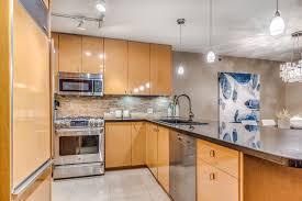 Birdseye Maple Kitchen Cabinets Beautiful Penthouse 1405 At 819 Hamilton Street Charles Bilash