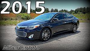 toyota avalon 2015 toyota avalon touring sport xle youtube