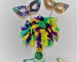 mardi gras centerpieces mardi gras feather mask wedding theme decoration centerpiece