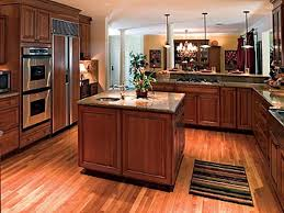 floor light engineered wood flooring with solid oak kitchen island