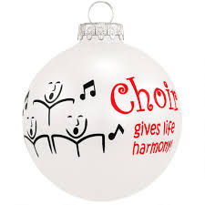 choir gives life harmony glass ornament hobbies christmas