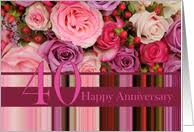 40th wedding anniversary cards from greeting card universe