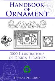 the handbook of ornament with 3000 royalty free illustrations of