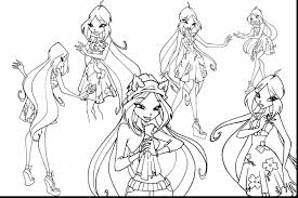 wonderful winx club coloring pages printable with winx coloring