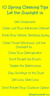 10 spring cleaning tips let the sunlight in life in pleasantville