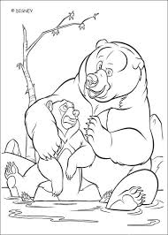 brother bear 24 coloring pages hellokids