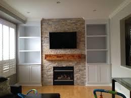 wooden shelf plans fireplace