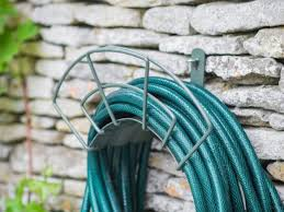 Garden Hose Hanger With Faucet Hose Reels U0026 Hangers Curated Collection From Gardenista