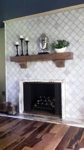 herringbone tile fireplace binhminh decoration