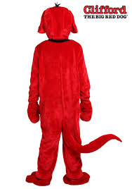 Big Size Halloween Costumes Clifford Big Red Dog Size Costume Adults