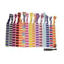 no crease hair ties ponytail holders hair ties 10 pack chevron by kenz laurenz