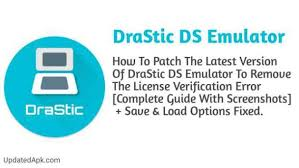 drastic ds emulator patched apk how to patch drastic ds emulator r2 5 0 3a and fix license