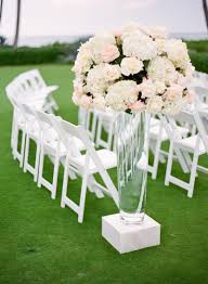 aisle markers ceremony décor photos floral aisle markers inside weddings