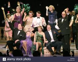 Curtain Call Theatre Curtain Call For The New Cast Change At Nice Work If You Can Get