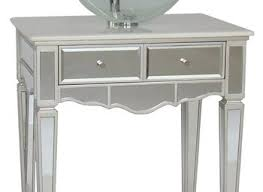 adelina 44 inch mirrored bathroom vanity cabinet fully assembled