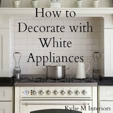 kitchen ideas white appliances kitchen ideas decorating with white appliances painted cabinets